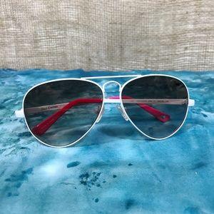 Juicy Couture Heritage Aviator Sunglasses